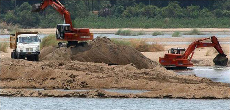 Foreign firms defy govt ban on riverbed mining, top soldier reported as VP Chiwenga brother named as protector