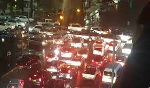 Traffic jams and bad citizens